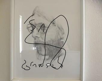 Duane Allman-----Hand Drawn Portrait