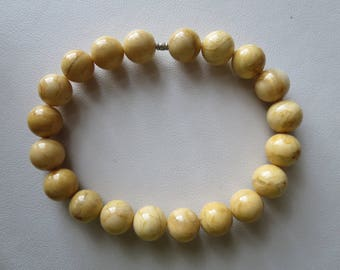 Yellow Jasper (Tigers Skin Jasper) Stretch Bracelet