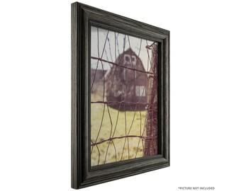 craig frames 24x36 inch black wood grain picture frame wiltshire 440 ebony 1265 - Etsy Frames