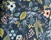 PRESALE - Amalfi - Herb Garden in Navy - Rifle Paper Co. for Cotton + Steel - 8044-02 - Half Yard