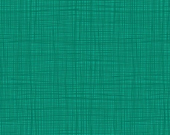 Linea - Linea in Teal - Makower UK for Andover Fabrics - TP-1525-T6 - 1/2 yd