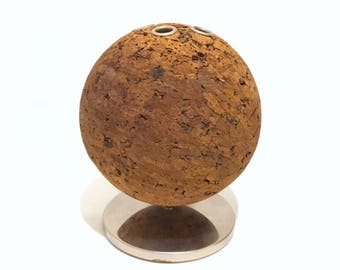 Mid Century Cork Ball Pen/Pencil holder by Park Sherman
