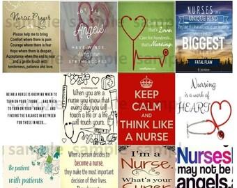 Nurse, #1-2, Quotes, Planner Stickers, Medical, Motivation, Inspiration, Hospital, Love, Erin Condren, Plum Paper Planner, Happy Planner