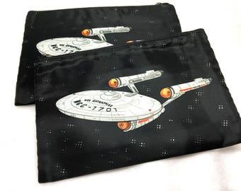 Star Trek Enterprise pouch or coin purse