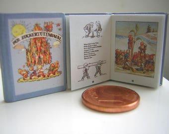 The sugar cone tree miniature book 12th scale