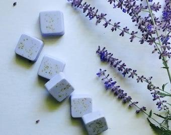 Lavender Basil Guest Soaps Set of 6