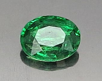 0.76 Ct Natural Green Garnet Tsavorite Unheated