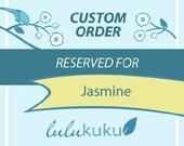 Custom Listing for Jasmine - Woodland Birch with Animals, Branch Shelf Set, and Owl Branch