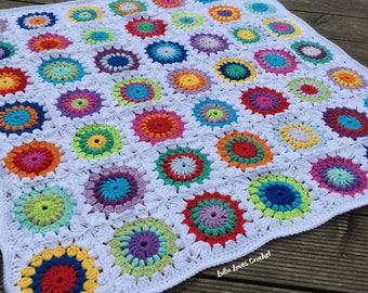 SALE - Cotton Crochet Blanket
