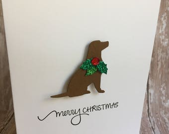 chocolate lab cards, labrador retriever cards, lab christmas cards, labrador christmas cards, lab cards, dog cards, dog christmas cards