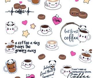 Motivational Coffee Sticker