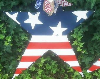 star,usa,american star,fourth of july, star doorhanger, usa doorhanger,fourth of july door hanger,4th of july, america,USA decor, star decor