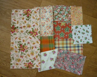 set of fabrics for patchwork 190 coupons