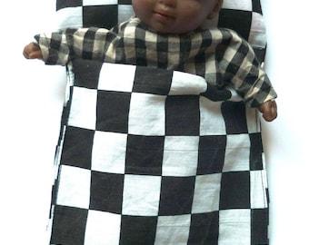 Bed doll sleeping bag