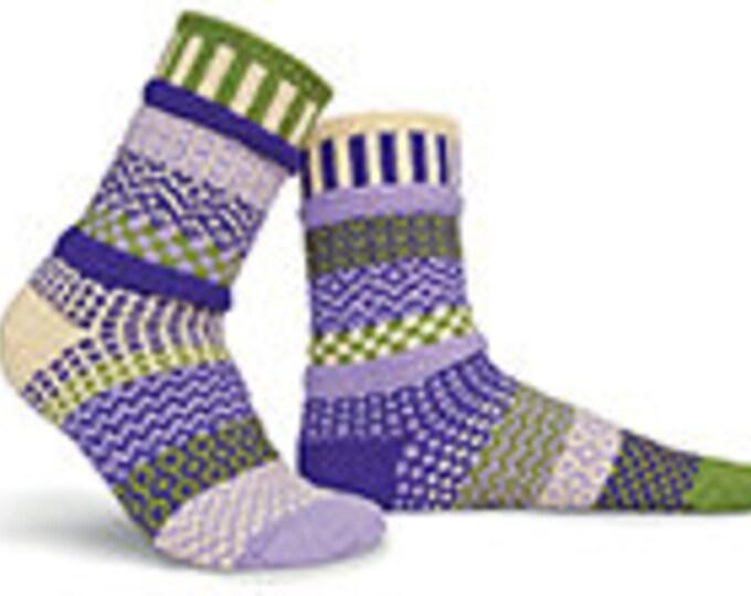 Solmate Socks - Orchid Crew
