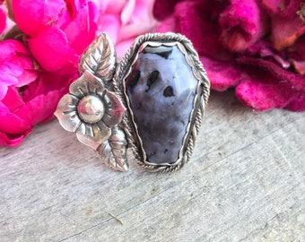 Beloved Ring Indigo Gabbros
