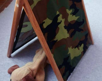 Barbie Ken or Stuffed Animal Pup Tent-Camouflage & Pup tent | Etsy