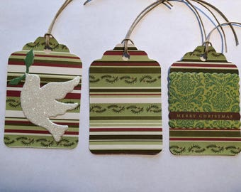 Holiday Gift Tags - 6 Tags