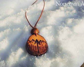 Tiwaz Rune pendant