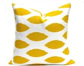 15% Off Sale Yellow Pillow, Yellow Pillow Cover, Pillows, Decorative Pillow, Cushion Cover, Throw Pillow Covers, Accent Pillow, Toss Pillow,