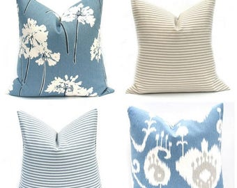 15% Off Sale Navy Pillow - Blue Pillow cover Decorative Pillow, Blue Pillow Accent Pillow Throw Pillow cover Toss Pillow Navy pillow cover t