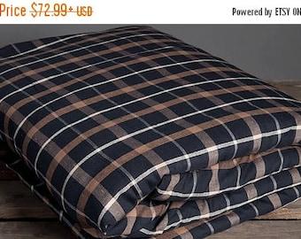 15%SALE Black linen duvet cover, linen bedding, natural eco friendly bedding, natural fabric bedding