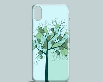 Lonely Tree mobile phone case, iPhone X, iPhone 8, iPhone 7, iPhone 7 Plus, iPhone SE, iPhone 6S, iPhone 6 case, iPhone 5S, iPhone 5