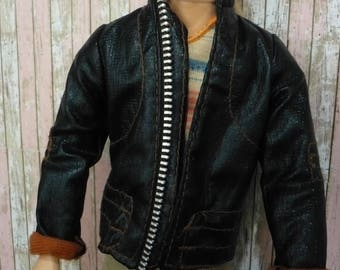 Leather jacket for Ken
