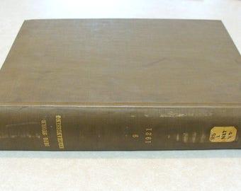 RARE 1921 National Drug Clerk Vol. 9, Drug Store Merchandising, Original Publication, Not a Reproduction! Lower Price