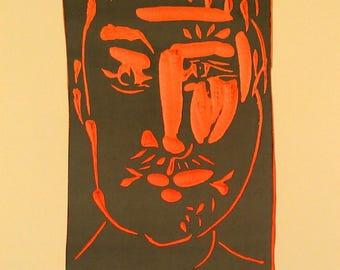 Pablo Picasso-Ceramic-1975 Poster