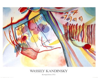 Wassily Kandinsky-Composition-1991 Poster