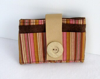 Credit card wallet, change purse, pink change purse, wallet