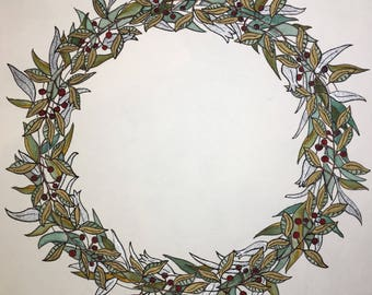 Holiday Welcome Wreath