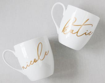 mug bridesmaid gifts custom mugs gifts for her name mug