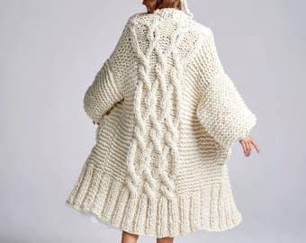Loopy Mango - Rockstar Coat - Chunky Merino Wool