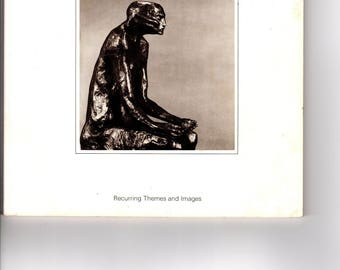 Art Exhibition Catalog, Michael Ayrton, Recurring Themes and Images, Paperback, 1981, Vintage Book, Bruton Gallery