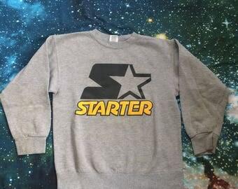 Vintage Starter Sports Style Long Sleeve Sweatshirt