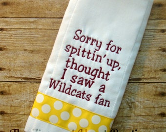 Sun Devil Burp Cloth