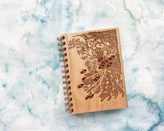 Coral Reef Wood Journal