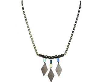 Leonie - grey necklace