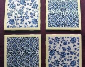 China Pattern Coasters