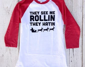 They See Me Rollin Adult Unisex Tee