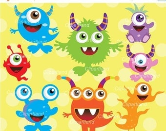 ON SALE INSTANT Download. Monsters 14. Personal and commercial use.