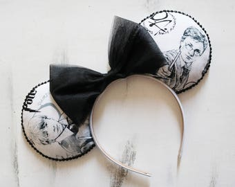 Harry Potter Inspired Minnie Mouse Ears