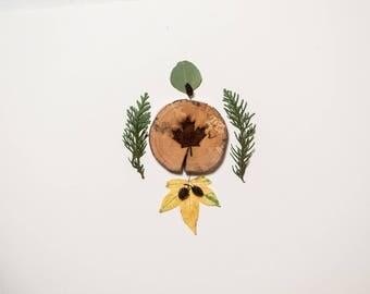 Maple Leaf West Coasters - Leaf Coasters - Driftwood Engraved Coasters - Sustainable Gift - West Coasters - Wood - Eco Houseware