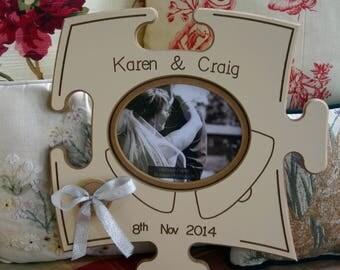 Wedding Puzzle Board - Personalized - Irish Furniture Store