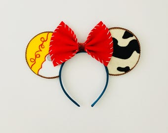 Toy Story's Jessie Inspired Minnie Mouse Ears