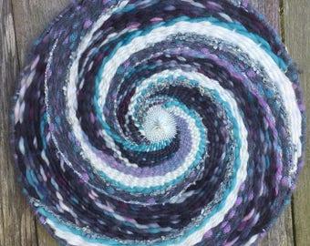 Handwoven Wallhanging - Swirling Vortex #1