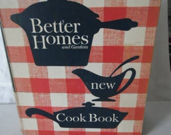 Better Homes and Gardens New Cook Book Copyright 1953, 1962, Revised Edition, Third Printing