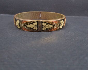 Clamper Bracelet in the Victorian style
